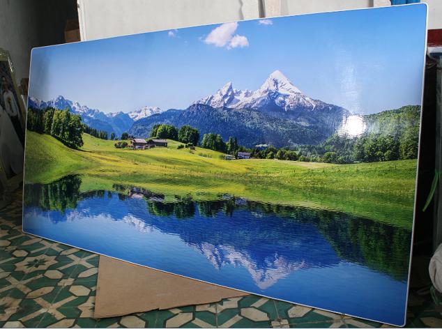 Mẫu tranh treo tường khổ lớn một tấm mà AmiA đã làm cho khách hàng