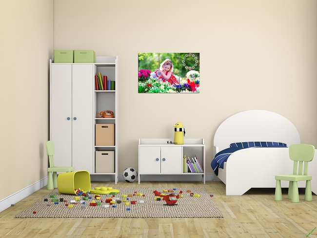 Một số lưu ý khi chọn tranh treo tường phòng ngủ trẻ em