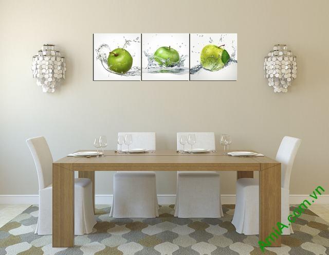 Tranh ghép treo tường phòng ăn quả táo Amia 309 hop tuoi Nham Ty sinh nam 1972