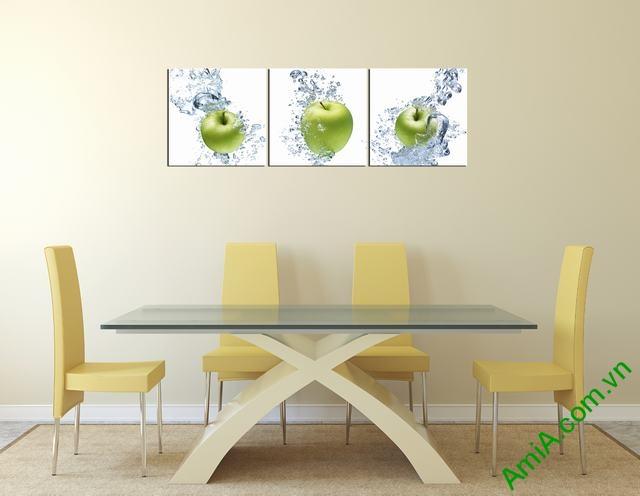 Tranh hoa quả treo tường phòng ăn amia 312-02