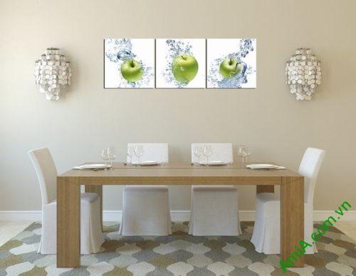 Tranh hoa quả treo tường phòng ăn amia 312