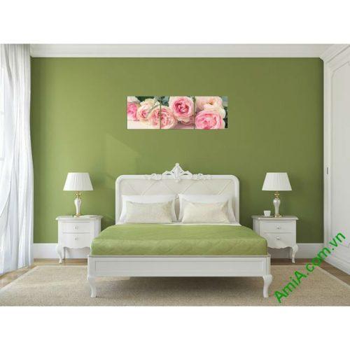 Tranh treo tường ghép bộ phòng ngủ amia 285-00