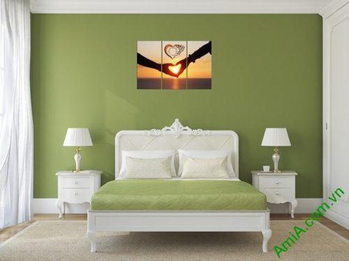 Tranh treo tường phòng ngủ Amia 329-03