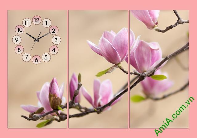 Chào Xuân cùng bộ tranh treo tường đẹp đậm sắc hoa