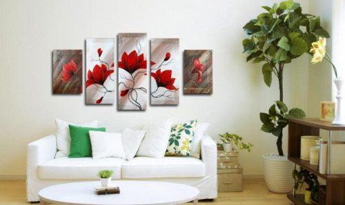 Tranh sơn dầu treo tường hiện đại
