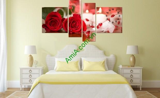 Một số lưu ý khi chọn tranh treo tường phòng ngủ