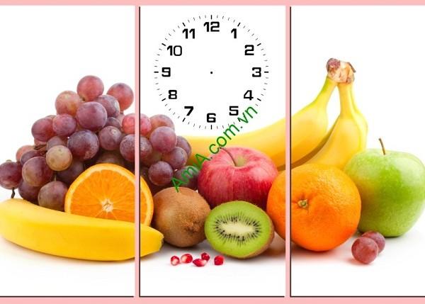 Tranh hoa quả treo tường phòng ăn hiện đại Amia 149