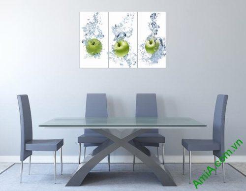 Tranh treo tường phòng ăn hoa quả Amia 313-01