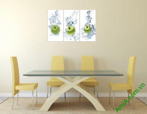 Tranh treo tường phòng ăn hoa quả Amia 313-02