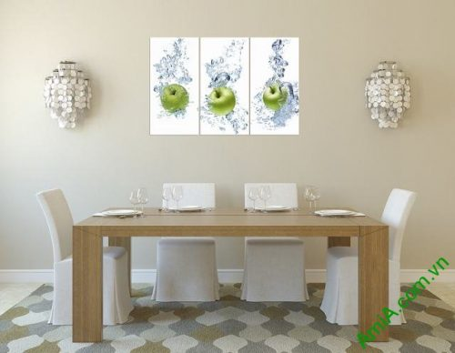Tranh treo tường phòng ăn hoa quả Amia 313