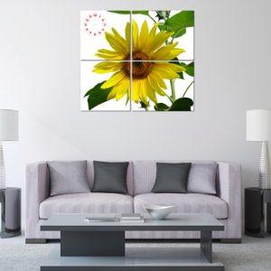 Tranh hoa hướng dương treo tường phòng khách amia 127-02