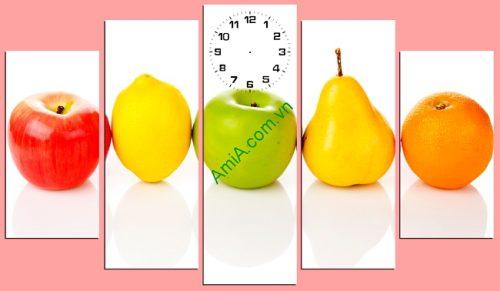 Tranh hoa quả treo tường phòng ăn amia 148