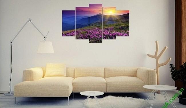 Chào Xuân cùng bộ tranh treo tường đẹp đậm sắc hoa-00
