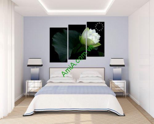 Tranh treo tường phòng ngủ, phòng khách Amia 122-02