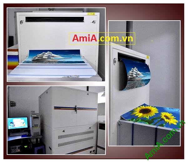 Cửa hàng bán buôn tranh treo tường có máy in ảnh siêu nét Amia Hà Nội