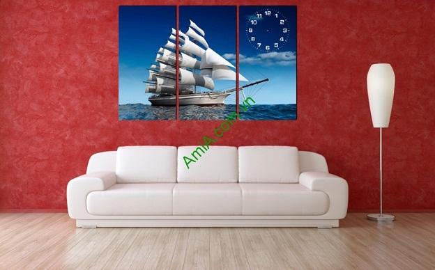 Giải mã ý nghĩa của tranh treo tường Thuận Buồm Xuôi Gió-02