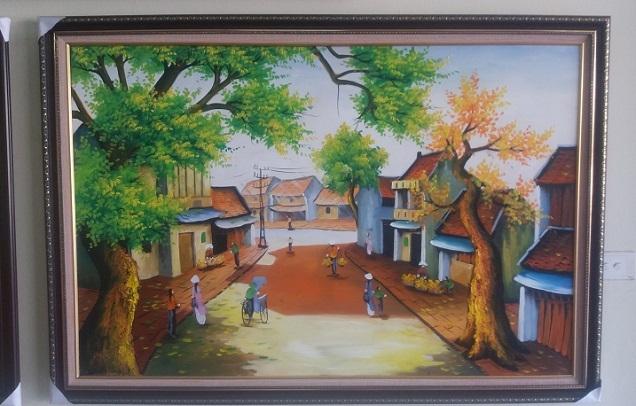 Quà tặng 8-3 dành cho mẹ - Sang trọng với tranh treo tường hiện đại-03