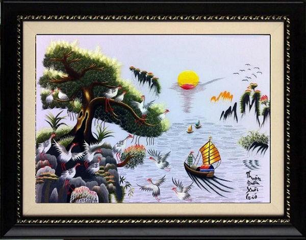 Top 3 bộ tranh treo tường phong thủy được ưa chuộng nhất-02