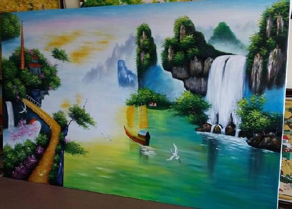 Top 3 bộ tranh treo tường phong thủy được ưa chuộng nhất-03