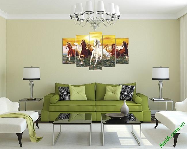 Top 3 bộ tranh treo tường phong thủy được ưa chuộng nhất-05