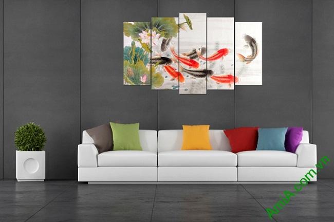 Top 3 bộ tranh treo tường phong thủy được ưa chuộng nhất-08