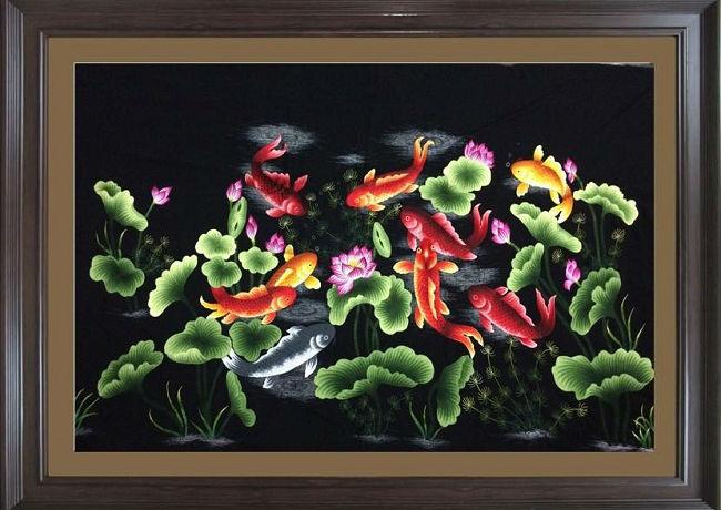 Top 3 bộ tranh treo tường phong thủy được ưa chuộng nhất-09