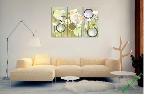 Tranh ghép nghệ thuật treo tường hình họa sáng tạo Amia 416-03