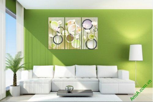 Tranh ghép nghệ thuật treo tường hình họa sáng tạo Amia 416