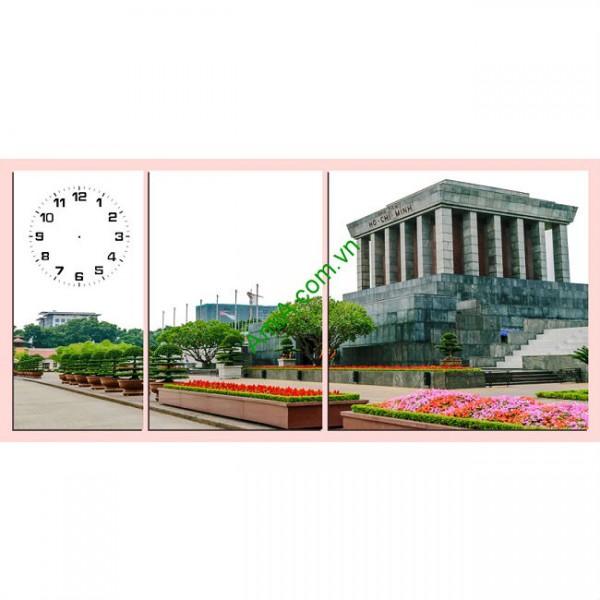 Tranh phong cảnh treo tường trang trí Lăng Bác Amia 169-00