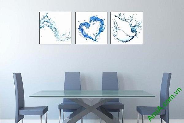 Tranh nước nghệ thuật treo tường phòng khách, phòng ăn-02