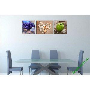 Tranh treo tường trang trí nội thất sang trọng hoa quả-00