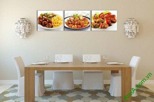 Tranh treo tường trang trí phòng ăn, nhà hàng AmiA 618-01