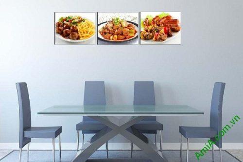 Tranh treo tường trang trí phòng ăn, nhà hàng AmiA 618-02