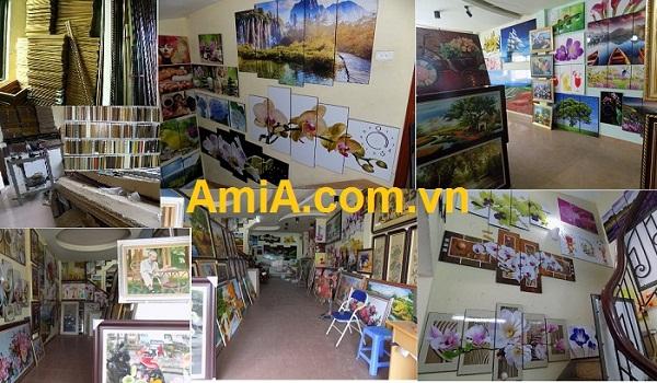 Địa chỉ Cửa hàng bán tranh treo tường và quà tặng Hà Nội