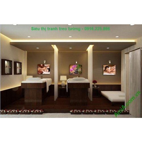 Hình ảnh mẫu Bộ tranh treo tường trang trí spa hiện đại