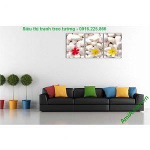 Hình ảnh mẫu Tranh treo tường hoa sứ trang trí spa đẹp