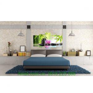 Hình ảnh mẫu Tranh treo tường khổ lớn spa đá hoa