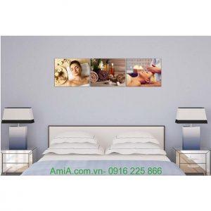 Hình ảnh mẫu tranh treo tường trang trí spa