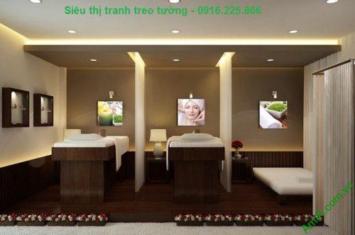 Hình ảnh Tranh ghép bộ treo tường spa hiện đại