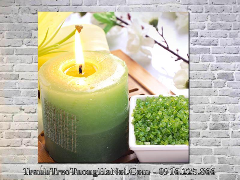Tranh nến và thảo dược spa