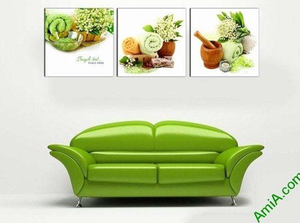 Hình ảnh Tranh treo tường trang trí spa hương liệu treo phòng khách