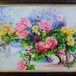 Y nghia tranh son dau hoa mau don AmiA