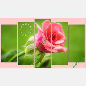 Tranh hoa hong treo tuong phong khach phong ngu AmiA TDH 141