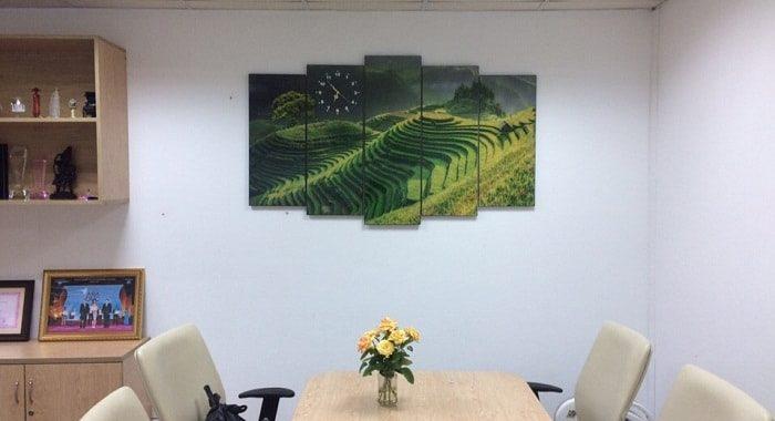 Mua tranh treo tuong phong lam viec dep chat luong o dau Ha Noi