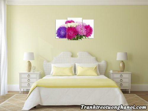 Tranh treo phong khach phong ngu hoa cuc AmiA
