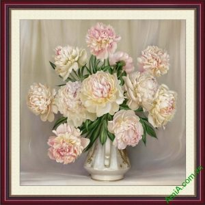 Tranh binh hoa mau don dep treo tuong hop phong thuy AmiA