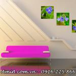 Ket qua hinh anh tranh amia ma 284 hoa mau xanh