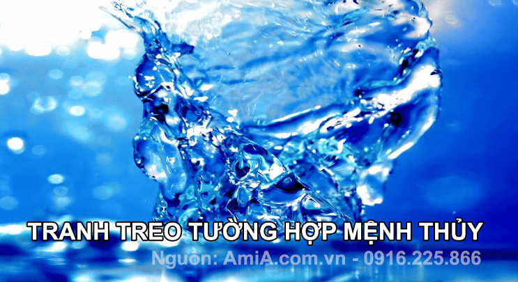 Cac buc tranh treo tuong thuoc hanh Thuy