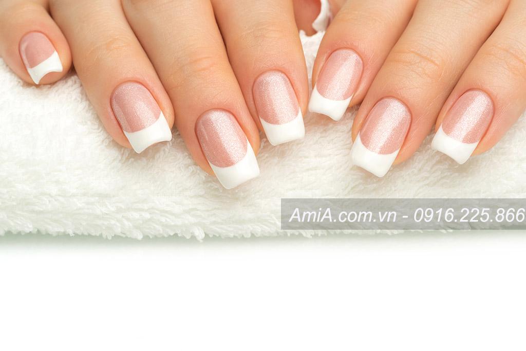 Hinh anh nail dep spa chat luong cao AmiA ist-515380592