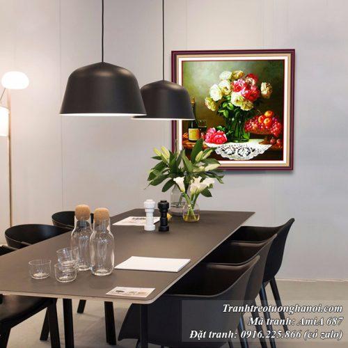 Tranh treo tường phòng ăn nhà bếp AmiA 687
